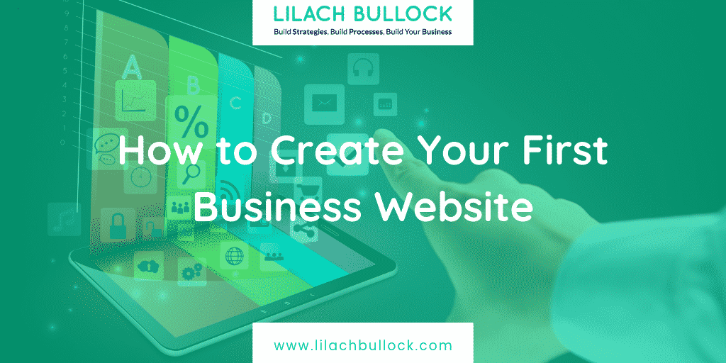 How to Create Your First Business Website