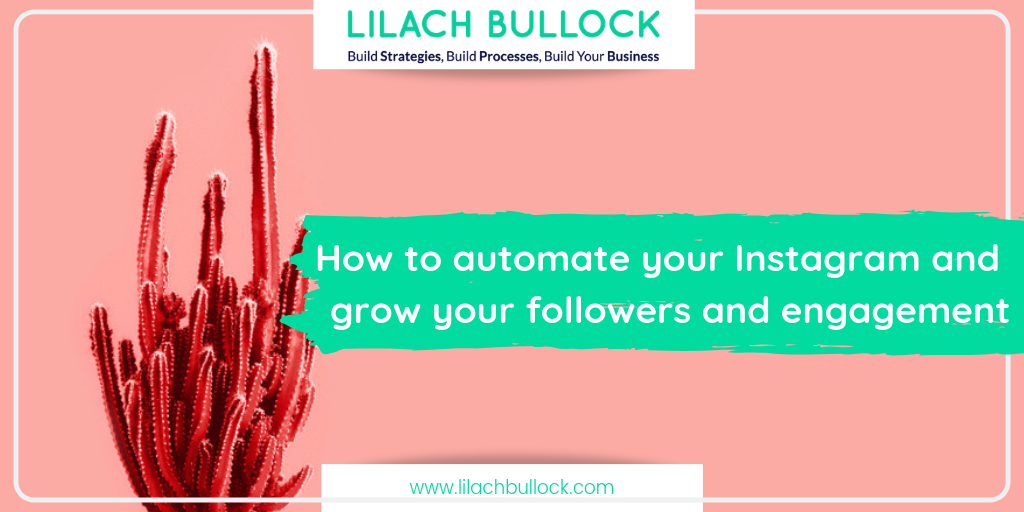 How to automate your Instagram and grow your followers and engagement