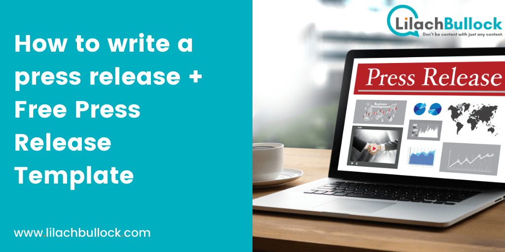 How to write a press release that gets noticed [Free Template]