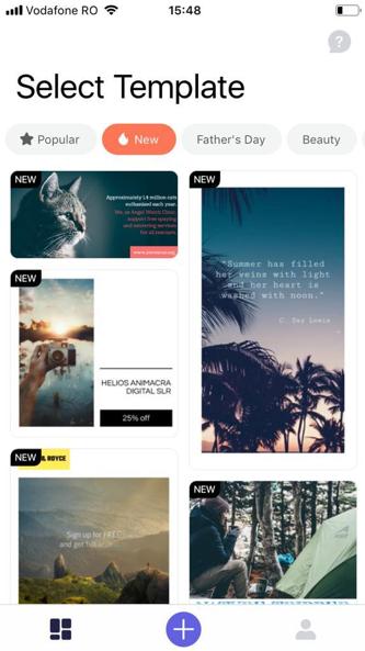 impresso screenshot 1 promo social video