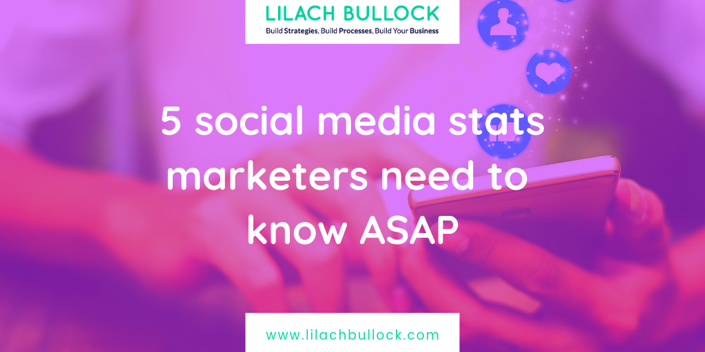 5 social media stats marketers need to know ASAP
