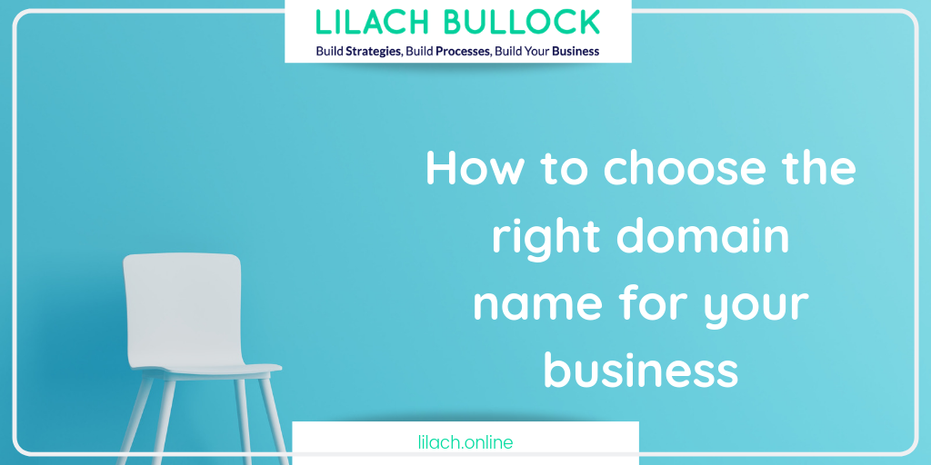 How to choose the right domain name for your business