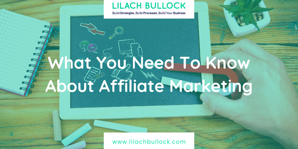 What You Need To Know About Affiliate Marketing
