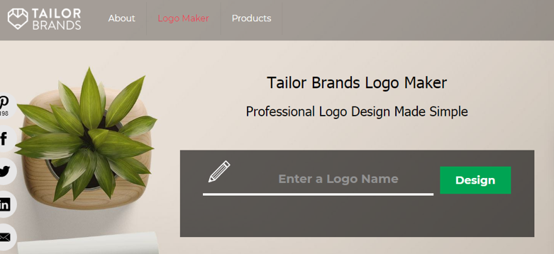 tailor brands screenshot 1