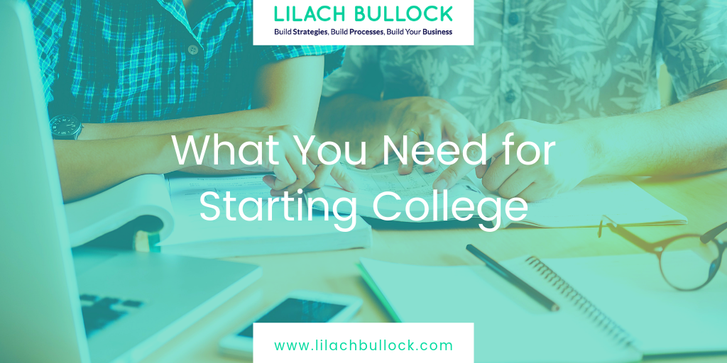 What You Need for Starting College