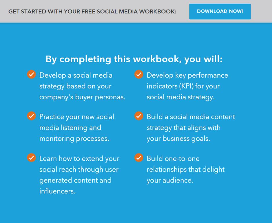 hubspot workbook example