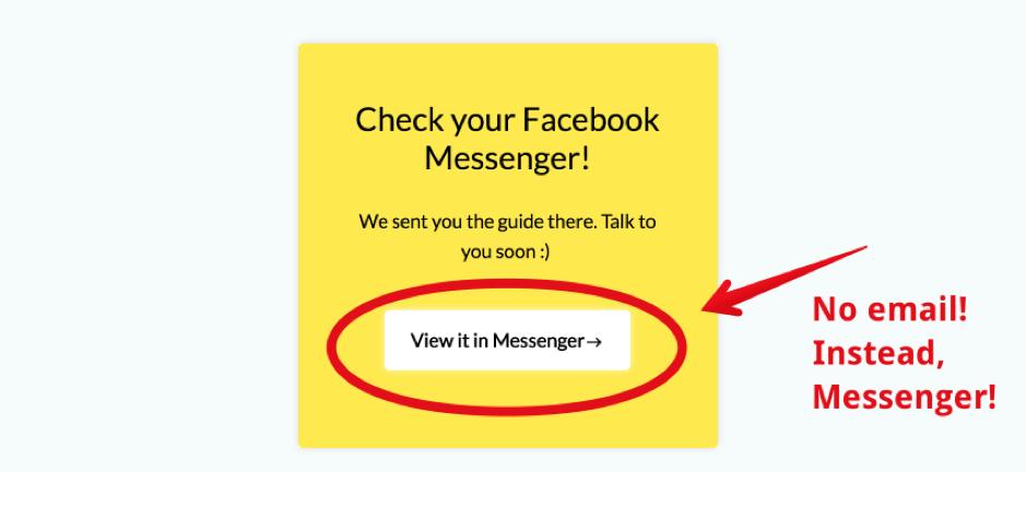 messenger example