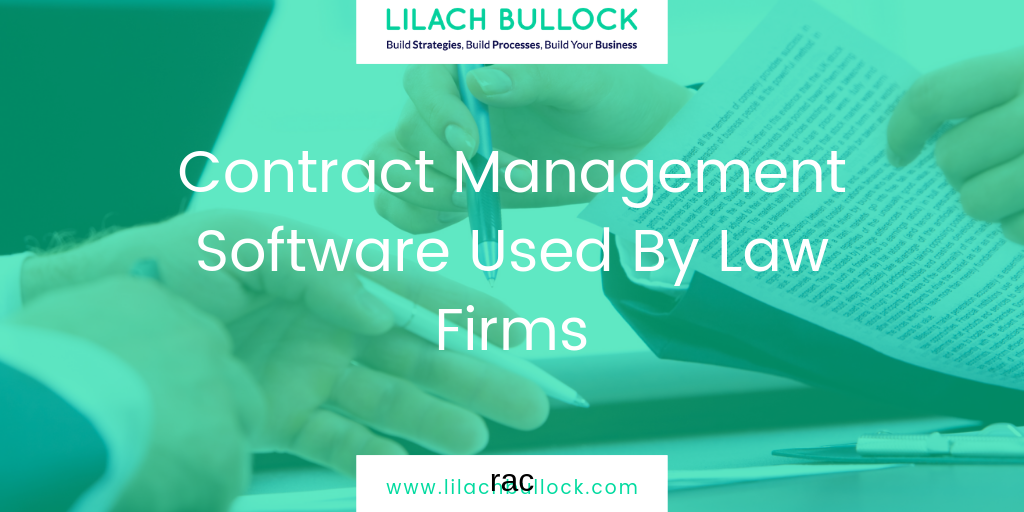 Contract Management Software Used By Law Firms
