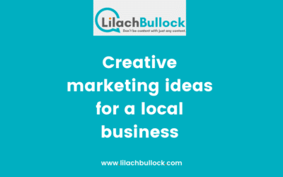 Creative marketing ideas for a local business