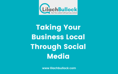 Taking Your Business Local Through Social Media