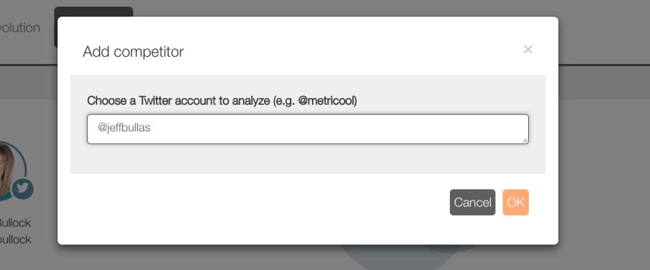 metricool screenshot