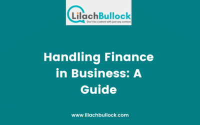 Handling Finance in Business: A Guide