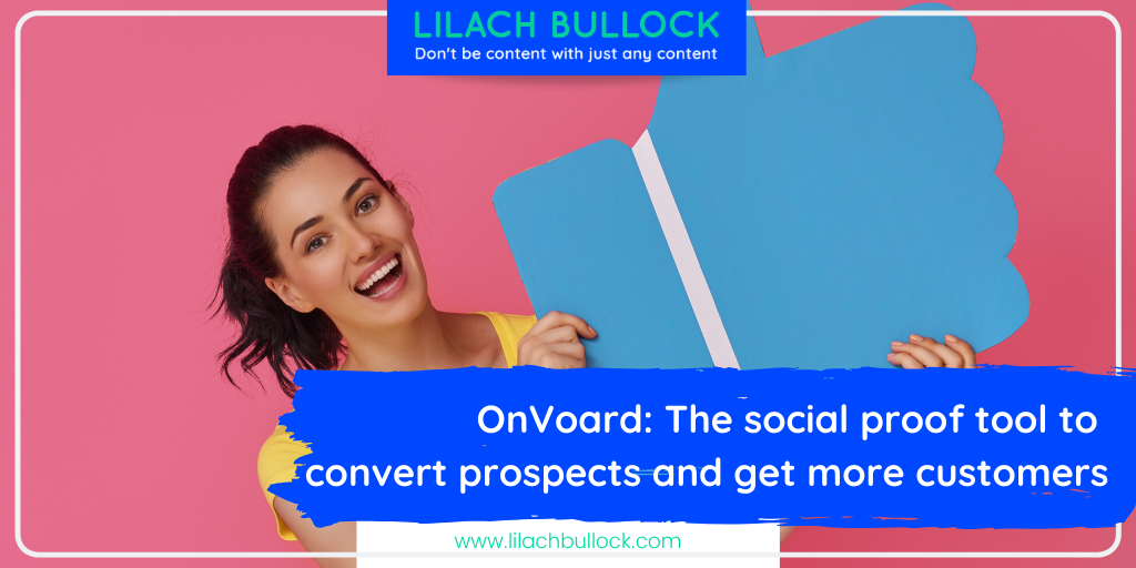 OnVoard: The social proof tool to convert prospects and get more customers