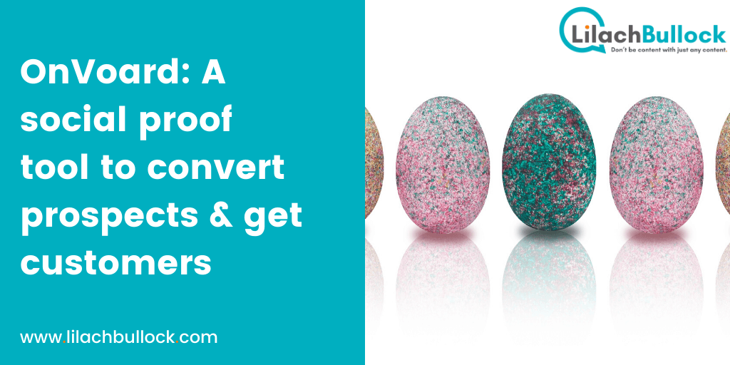 OnVoard A social proof tool to convert prospects & get customers