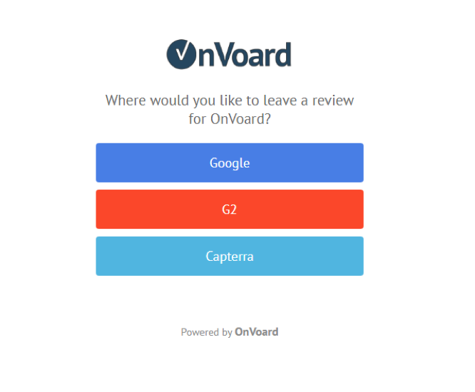 onvoard screenshot
