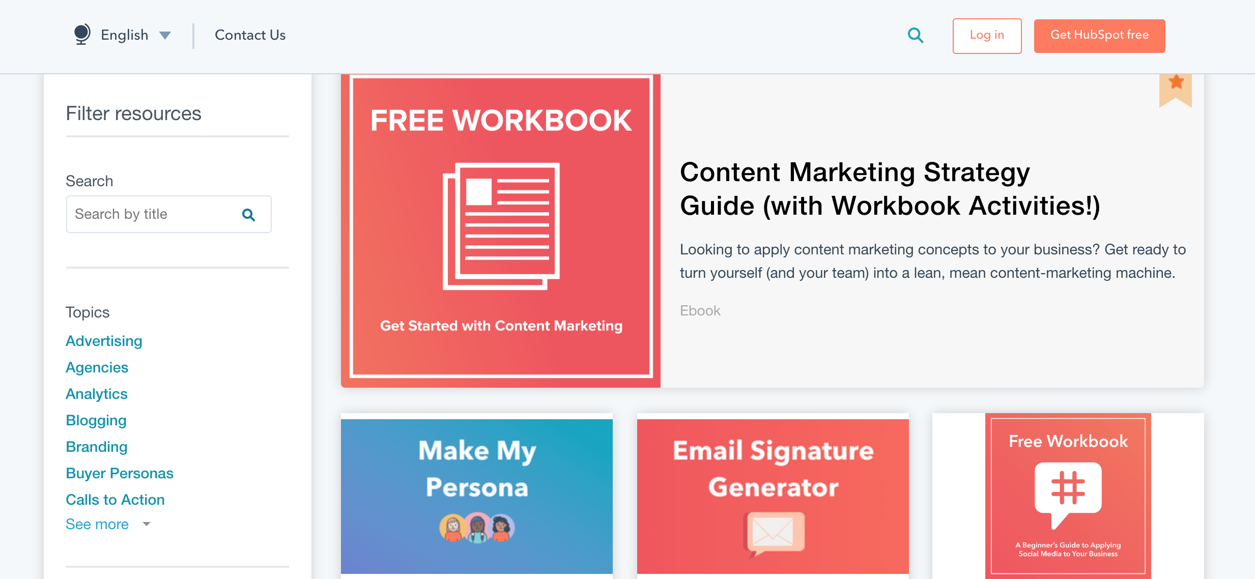 benefits of content marketing example