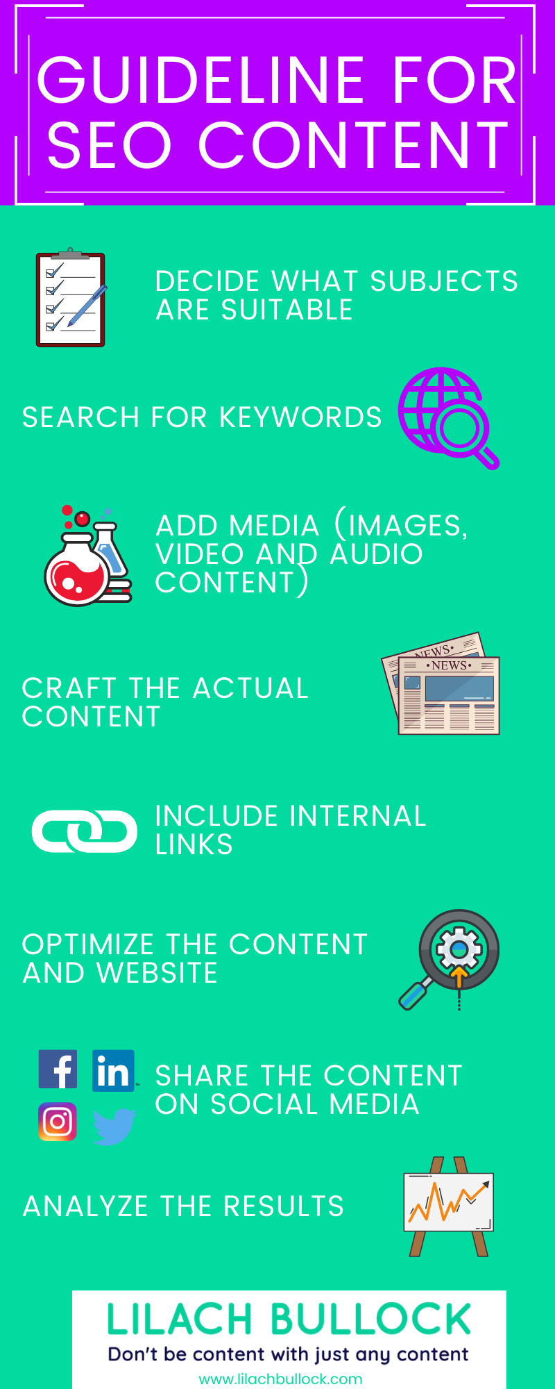 guideline for seo content