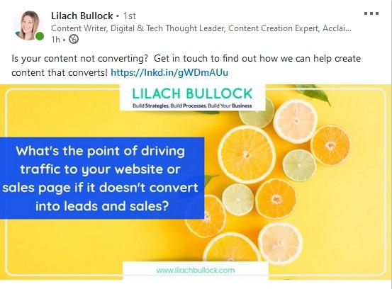 lilach bullock linkedin