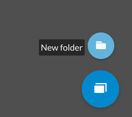 wevideo create new folder