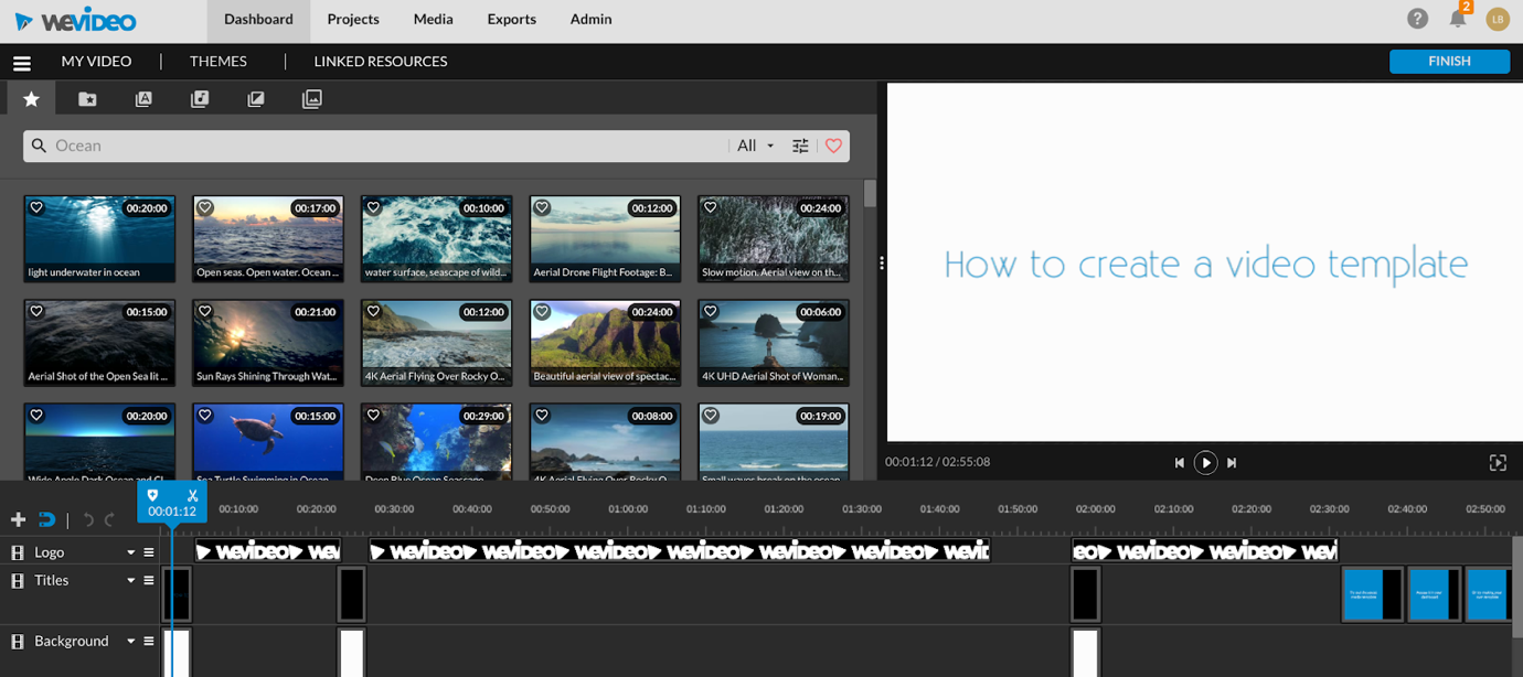 wevideo template tutorial