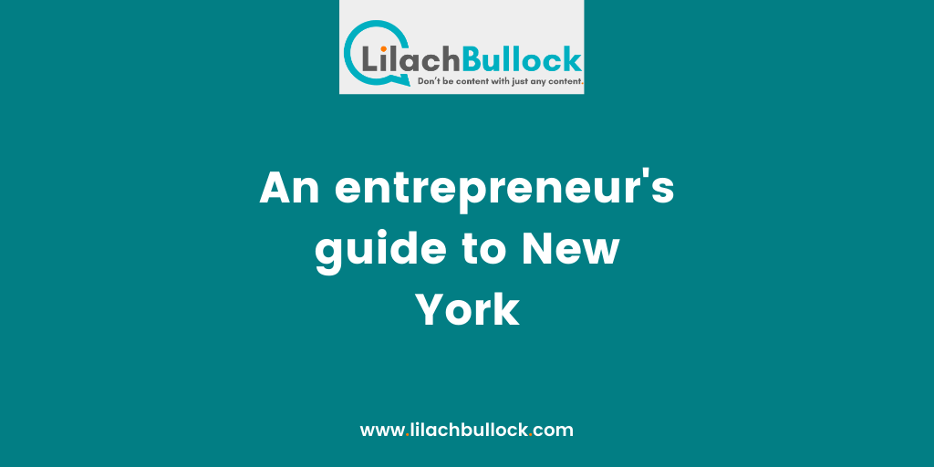 An entrepreneur's guide to New York