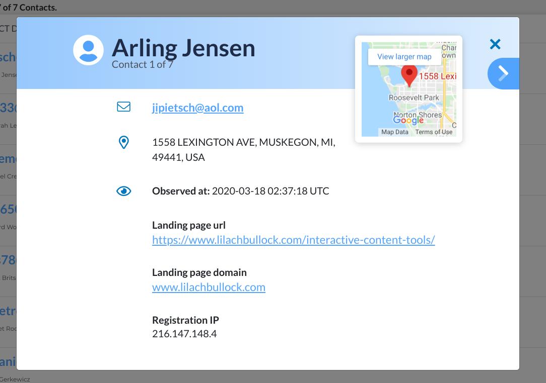 getemails email address details