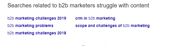b2b marketers