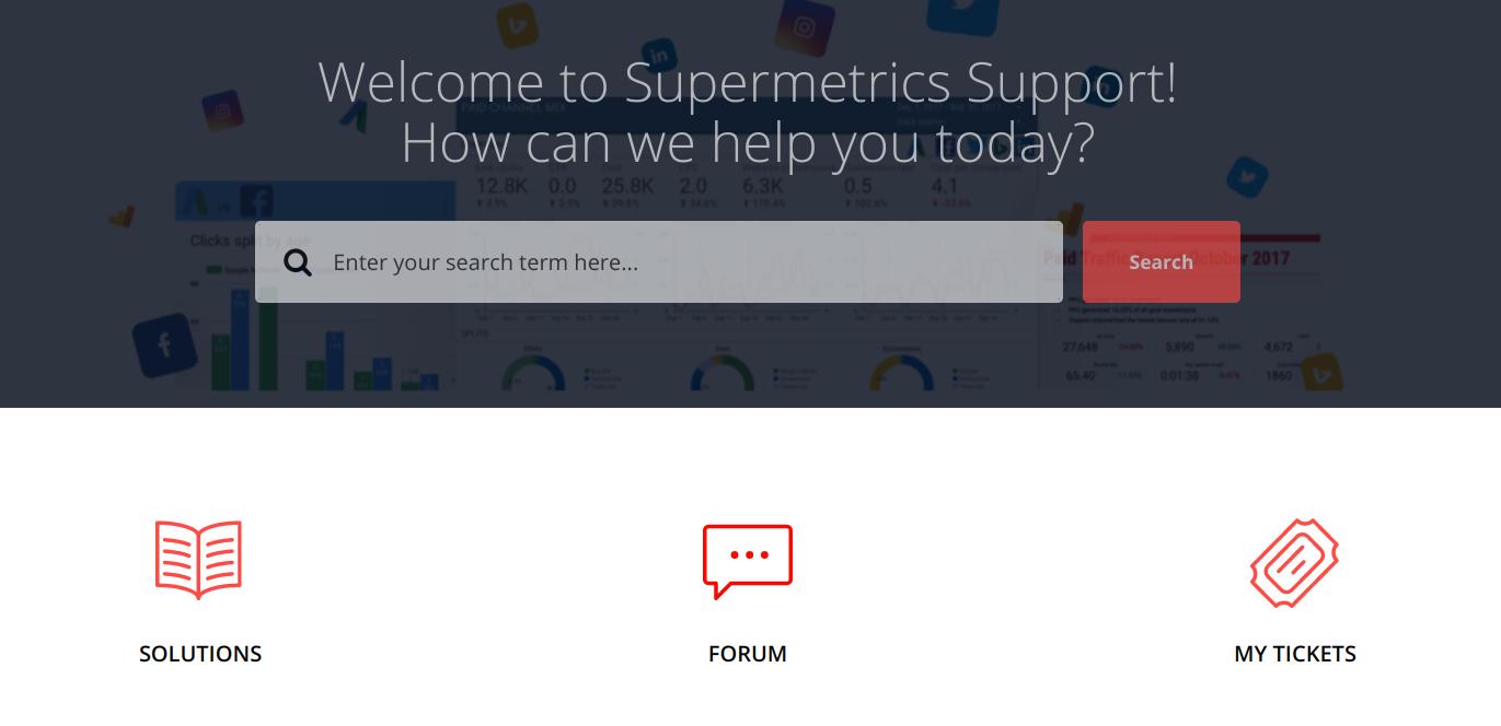 supermetrics support