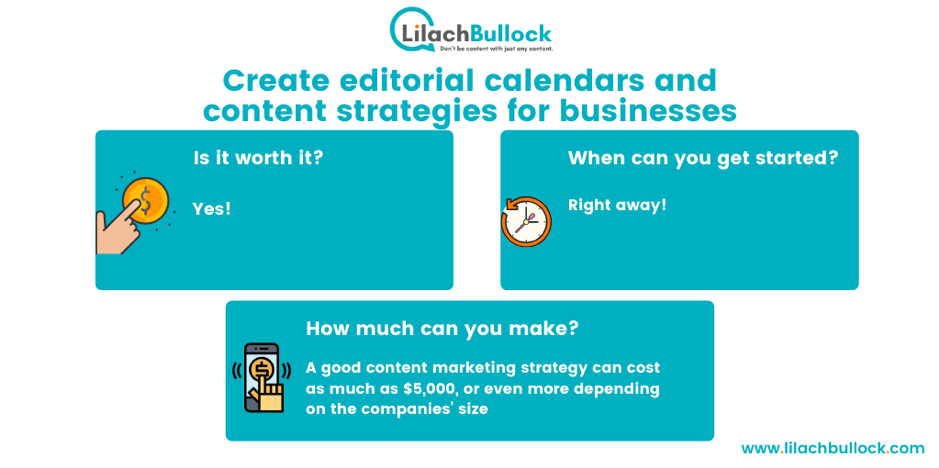 making money blogging with content strategies