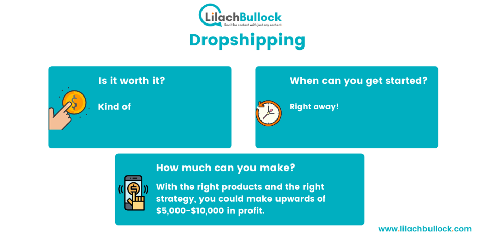 making money online with dropshipping