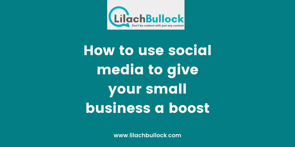 How to use social media to give your small business a boost