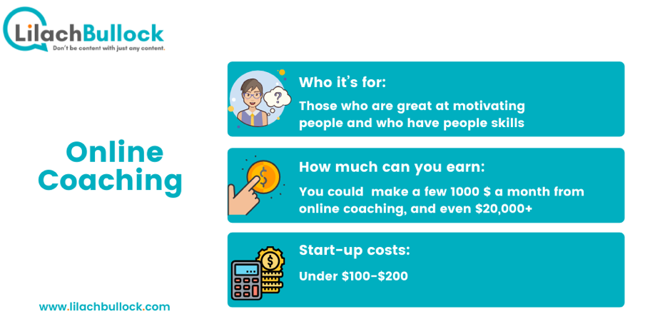 How to make money online with online coaching