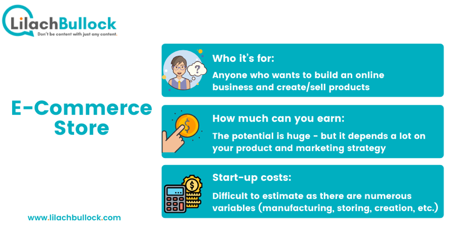 How to make money online with an ecommerce store