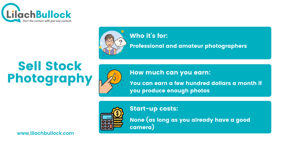 How to make money online with stock photography