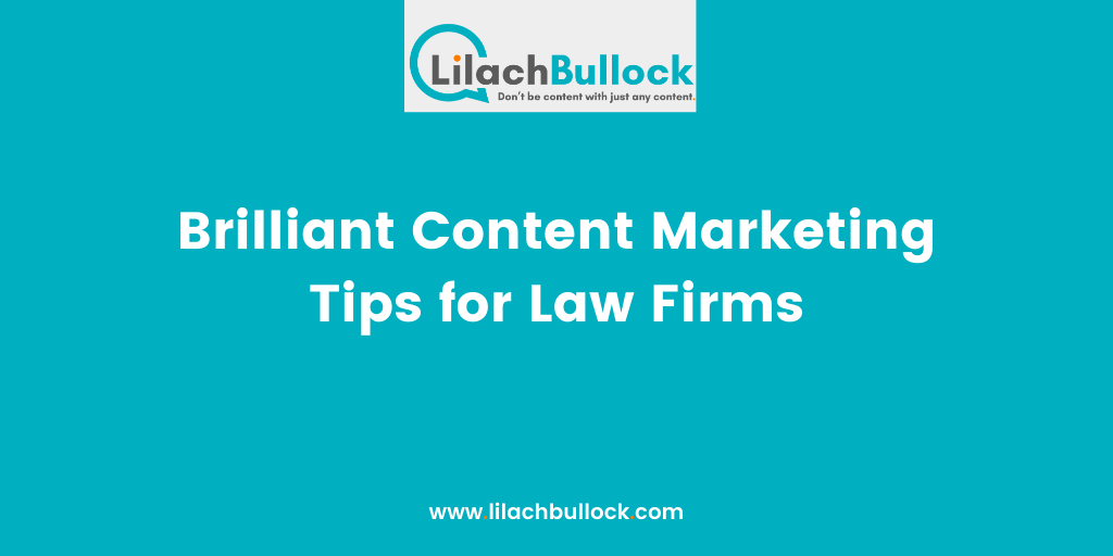 Brilliant Content Marketing Tips for Law Firms(1)