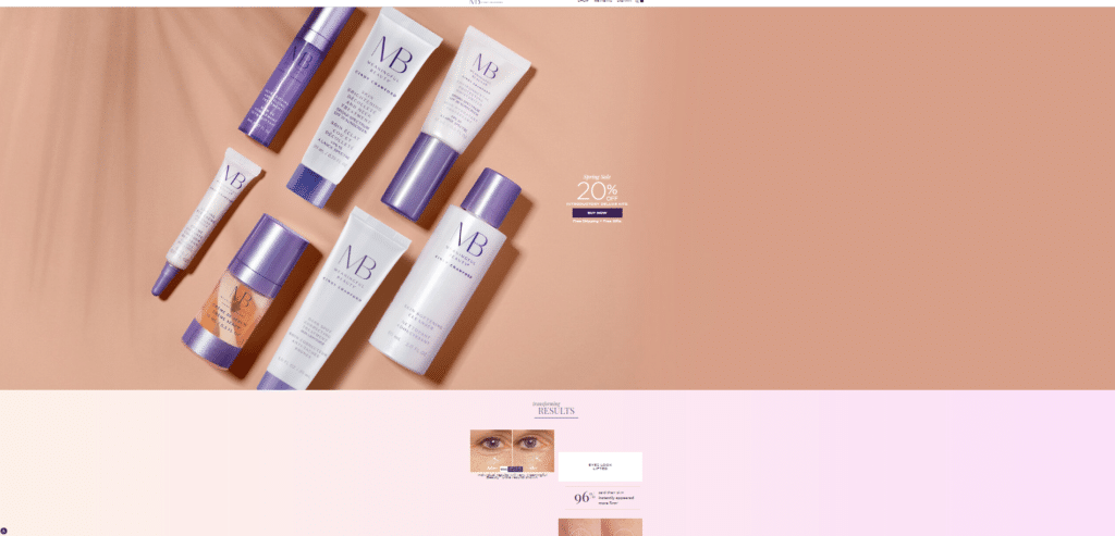 color psychology anti-aging cosmetc products