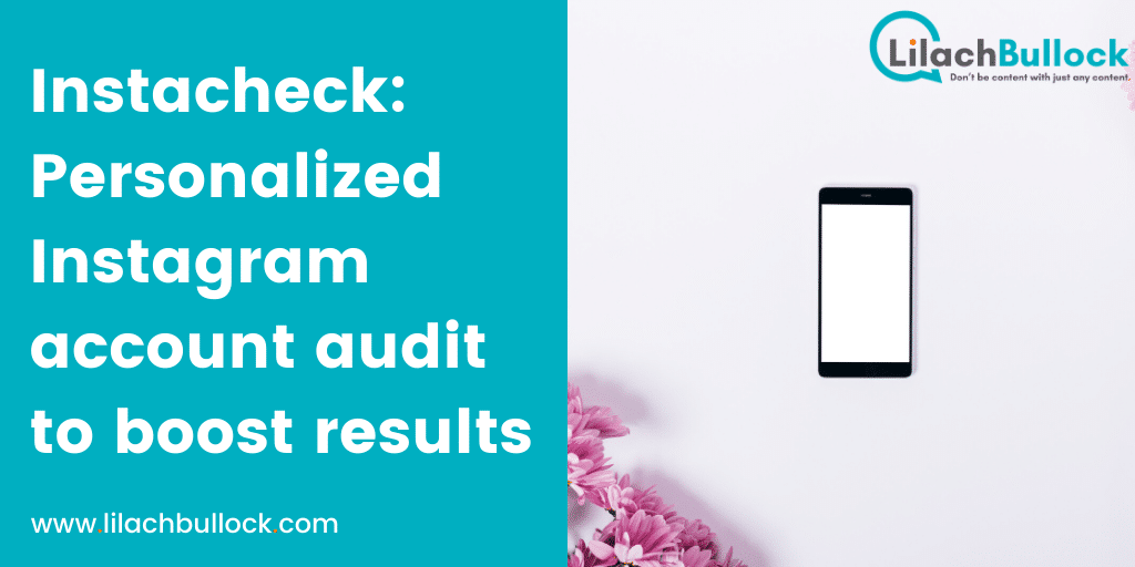 Instacheck_ Personalized Instagram account audit to boost results