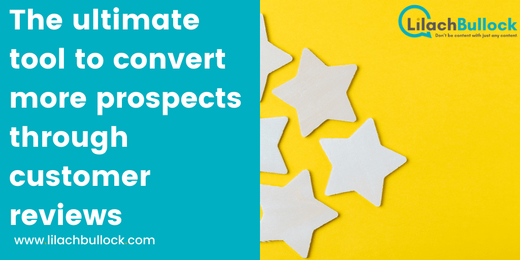 The ultimate tool to convert more prospects through customer reviews