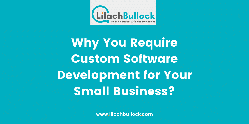 Why You Require Custom Software Development for Your Small Business