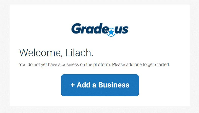 grade us add a business