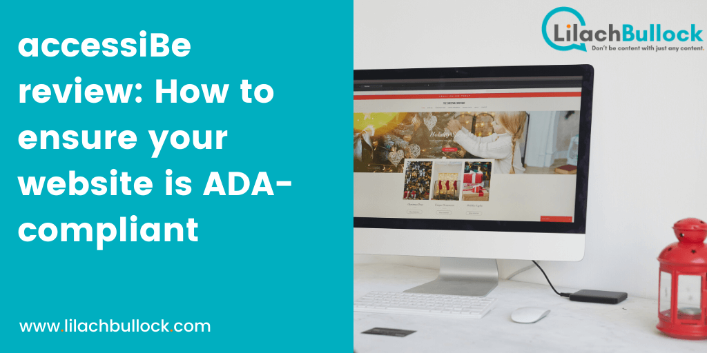 accessiBe review: How to ensure your website is ADA-compliant