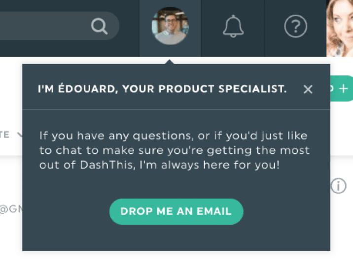 dashthis customer support