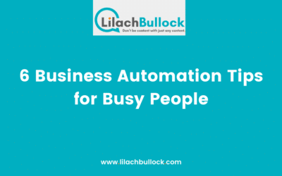 6 Business Automation Tips for Busy People