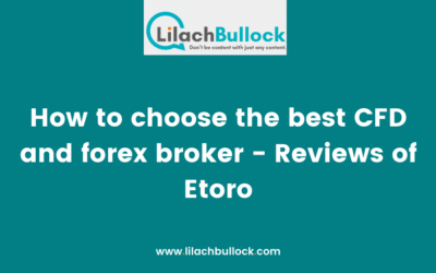How to choose the best CFD and forex broker – Reviews of Etoro