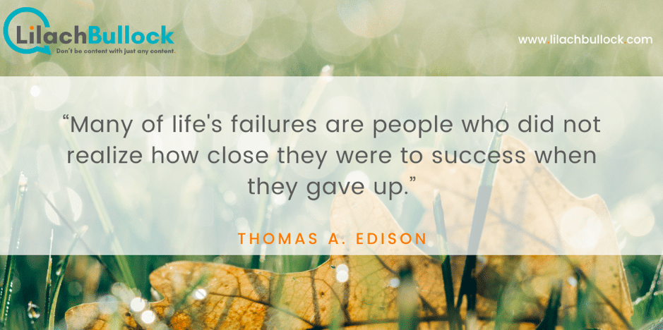 Inspirational quotes about success thomas a. edison