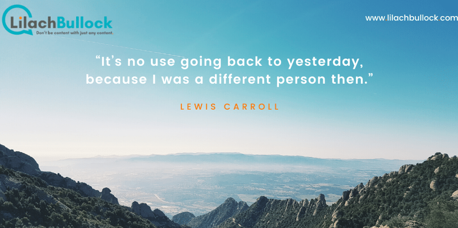 Inspirational quotes about success lewis carroll