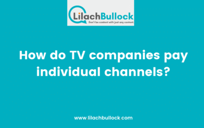 How do TV companies pay individual channels?