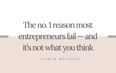 The no. 1 reason most entrepreneurs fail — and it's not what you think