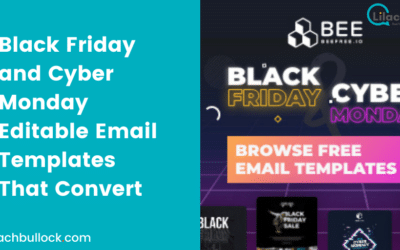 Giveaway: Black Friday and Cyber Monday Editable Email Templates That Convert
