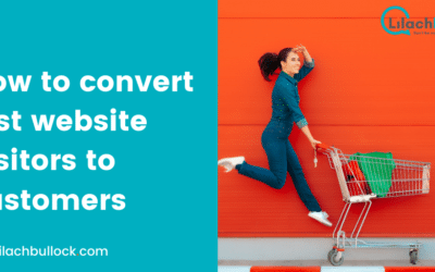 How to convert lost website visitors to customers